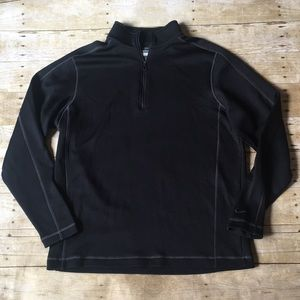 Men's Nike Golf Therma Fit Black Top Size Large